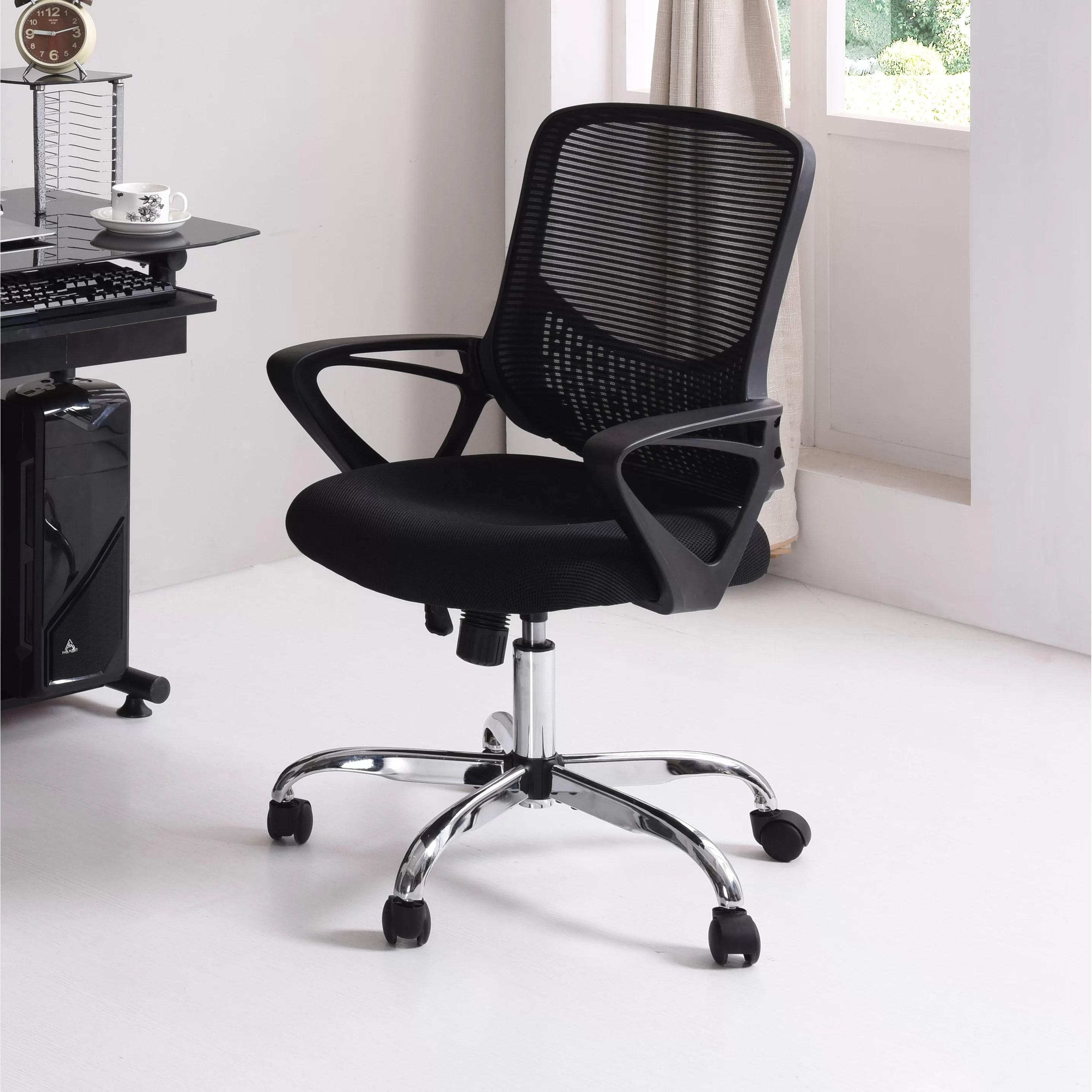 Hodedah Mid Back Mesh Office Chair  Reviews  Wayfair
