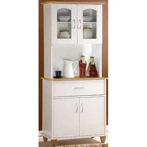 Hodedah Kitchen Island China Cabinet  Reviews  Wayfairca