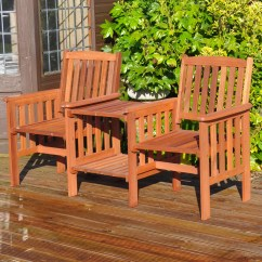 Tantra Chair For Sale Folding Modern Kingfisher Garden 2 Seater Wooden Love Seat And Reviews