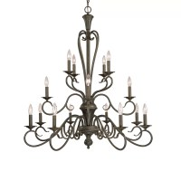 Millennium Lighting Devonshire 16 Light Chandelier ...