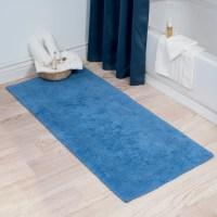 Lavish Home Extra Long Reversible Bath Rug & Reviews | Wayfair