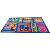 Kid Carpet Vroom Vroom Car Play Area Rug & Reviews | Wayfair