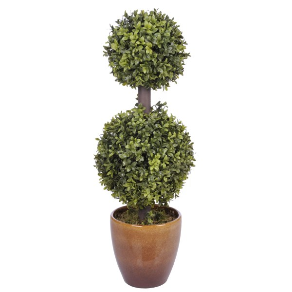 Flower Topiary Balls Artificial