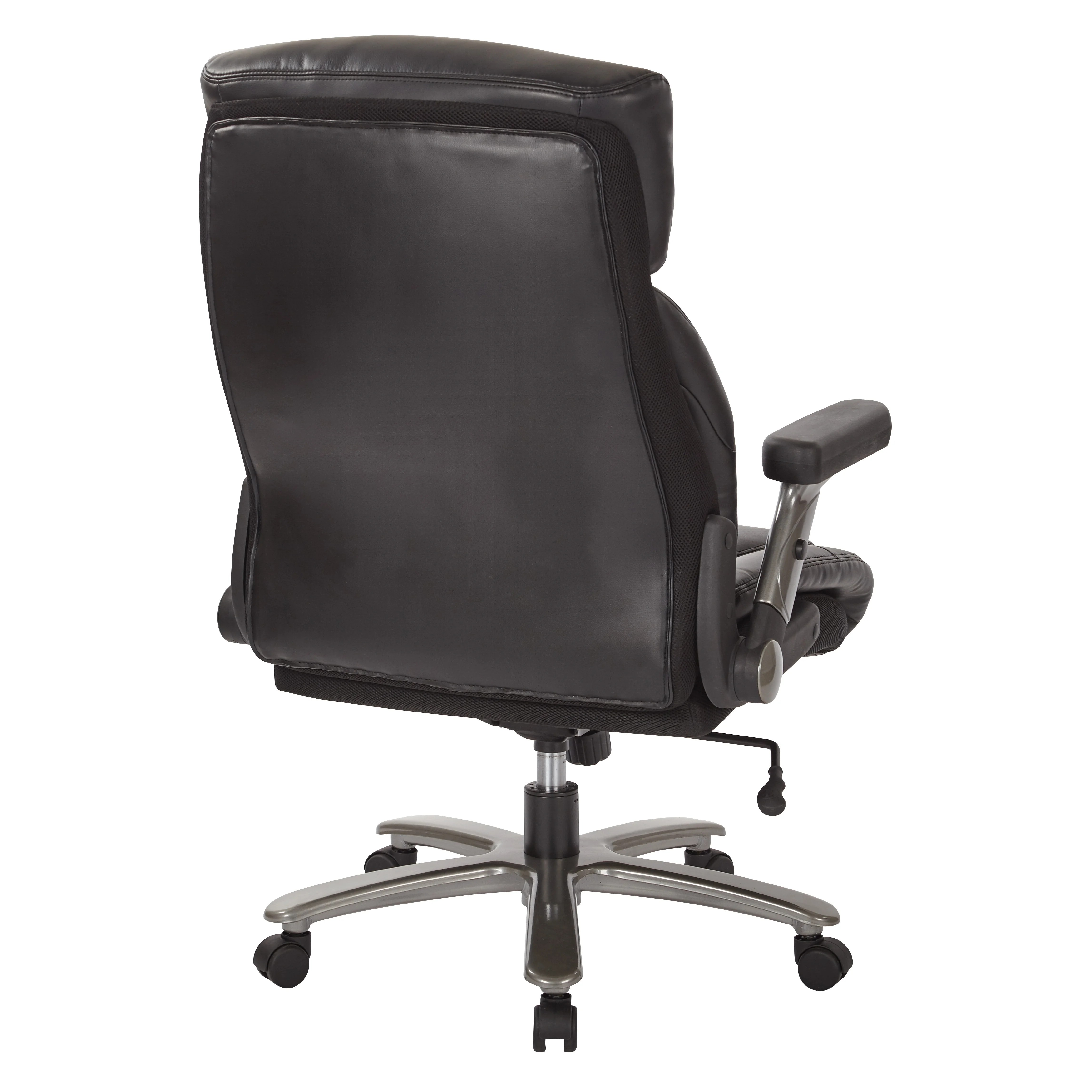 bassett office chair bedroom purple inspired by 28 25 quot high back leather executive