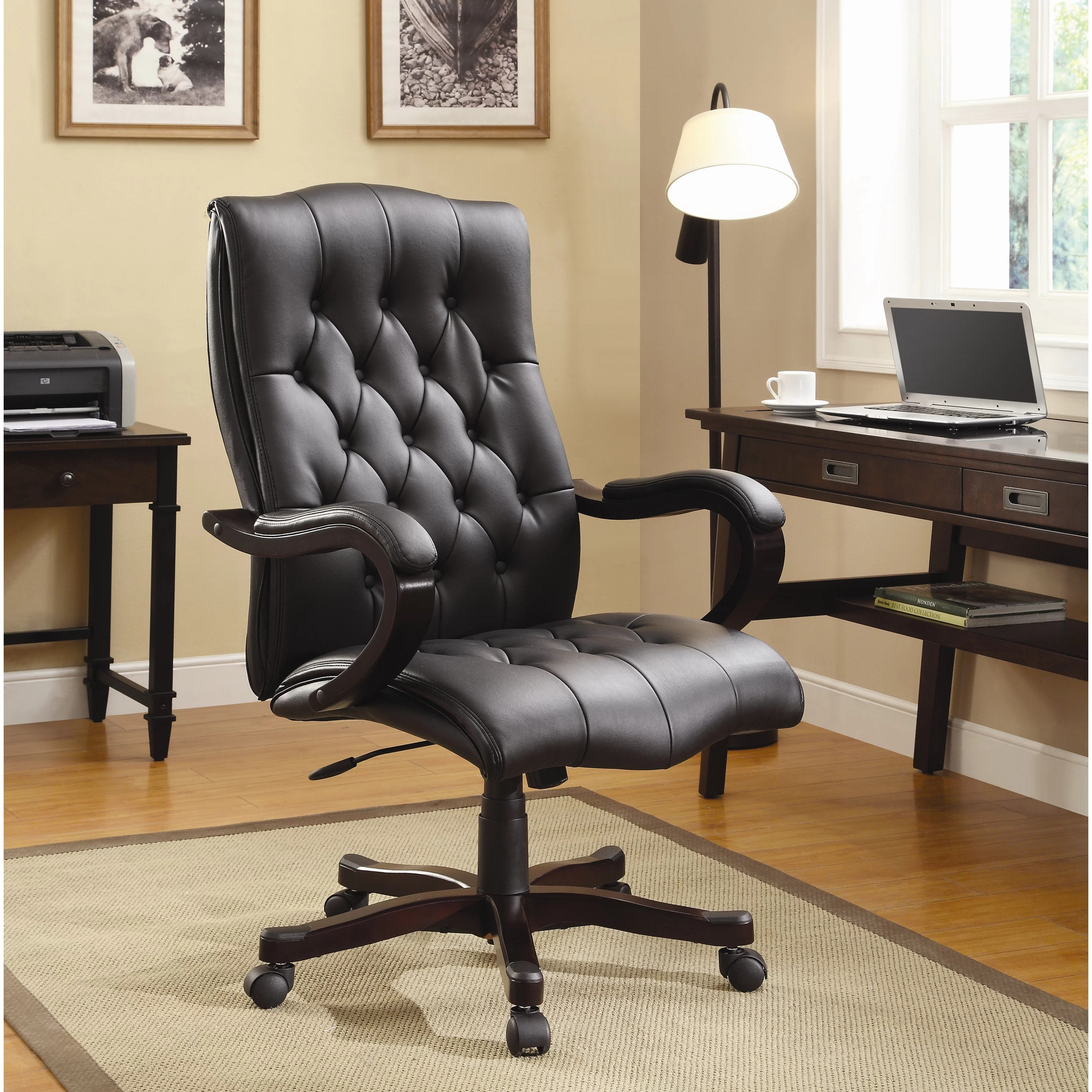 bassett office chair collapsible garden chairs inspired by dixon eco leather executive