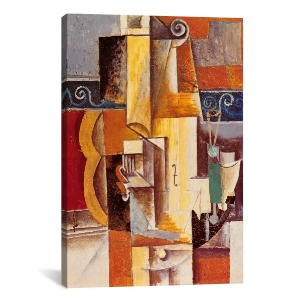 Icanvas 'violin And Guitar' Pablo Picasso Painting