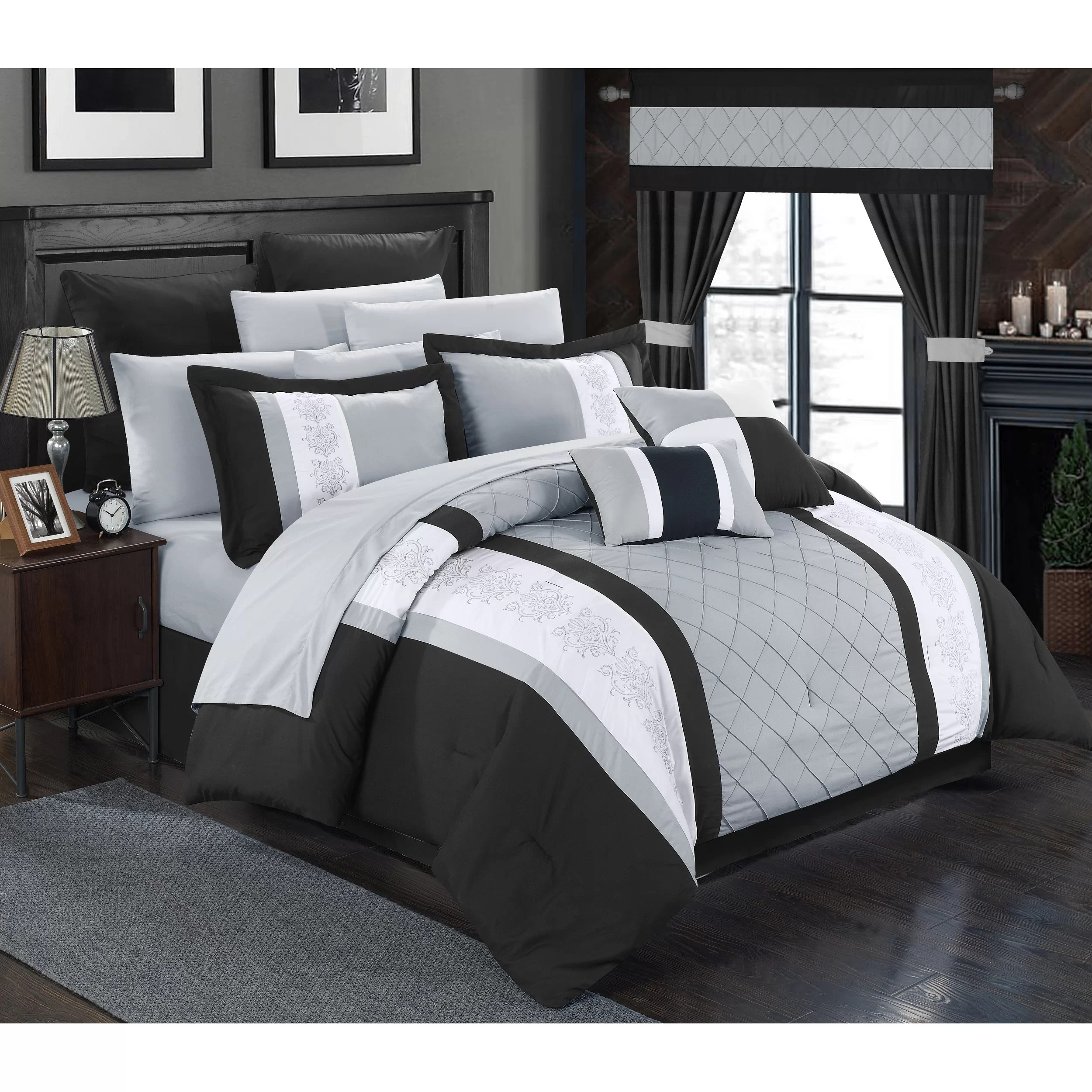Chic Home Danielle 24 Piece Comforter Set & Reviews