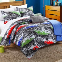 Chic Home Heroes 5 Piece Full/Queen Comforter Set | Wayfair