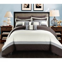 Chic Home Falcon Hotel 8 Piece Twin Bed-In-A-Bag | Wayfair