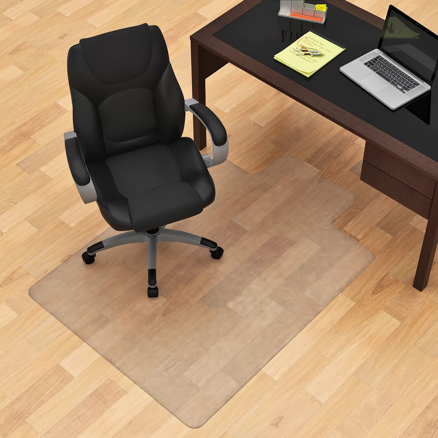 Chair Mats Z Line Designs Hard Floor Straight Edge Chair Mat