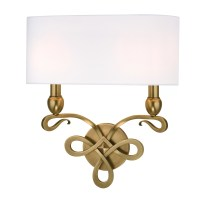 Hudson Valley Lighting Pawling 2 Light Wall Sconce ...
