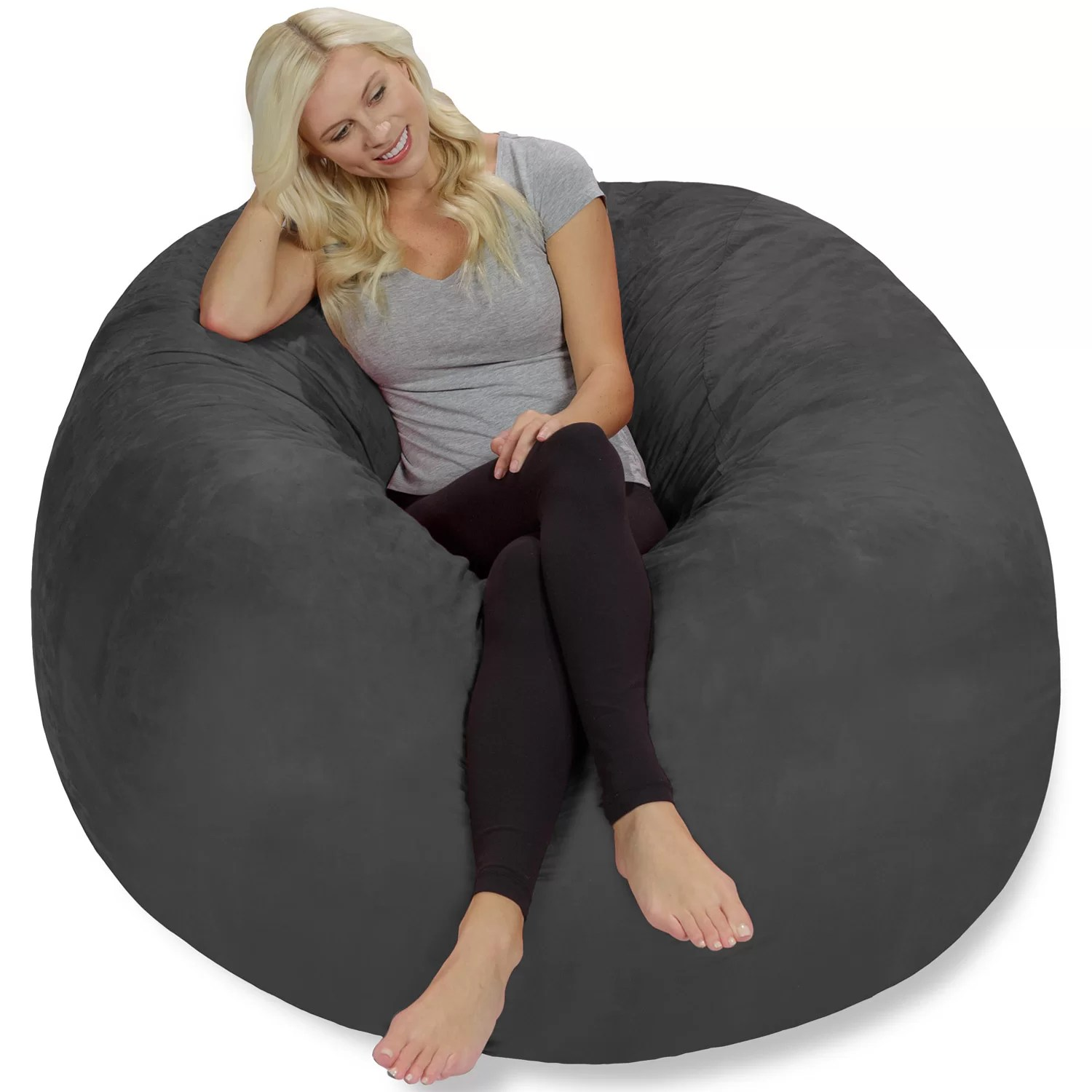 Bean Bags Chair Theater Sacks Bean Bag Lounger And Reviews Wayfair