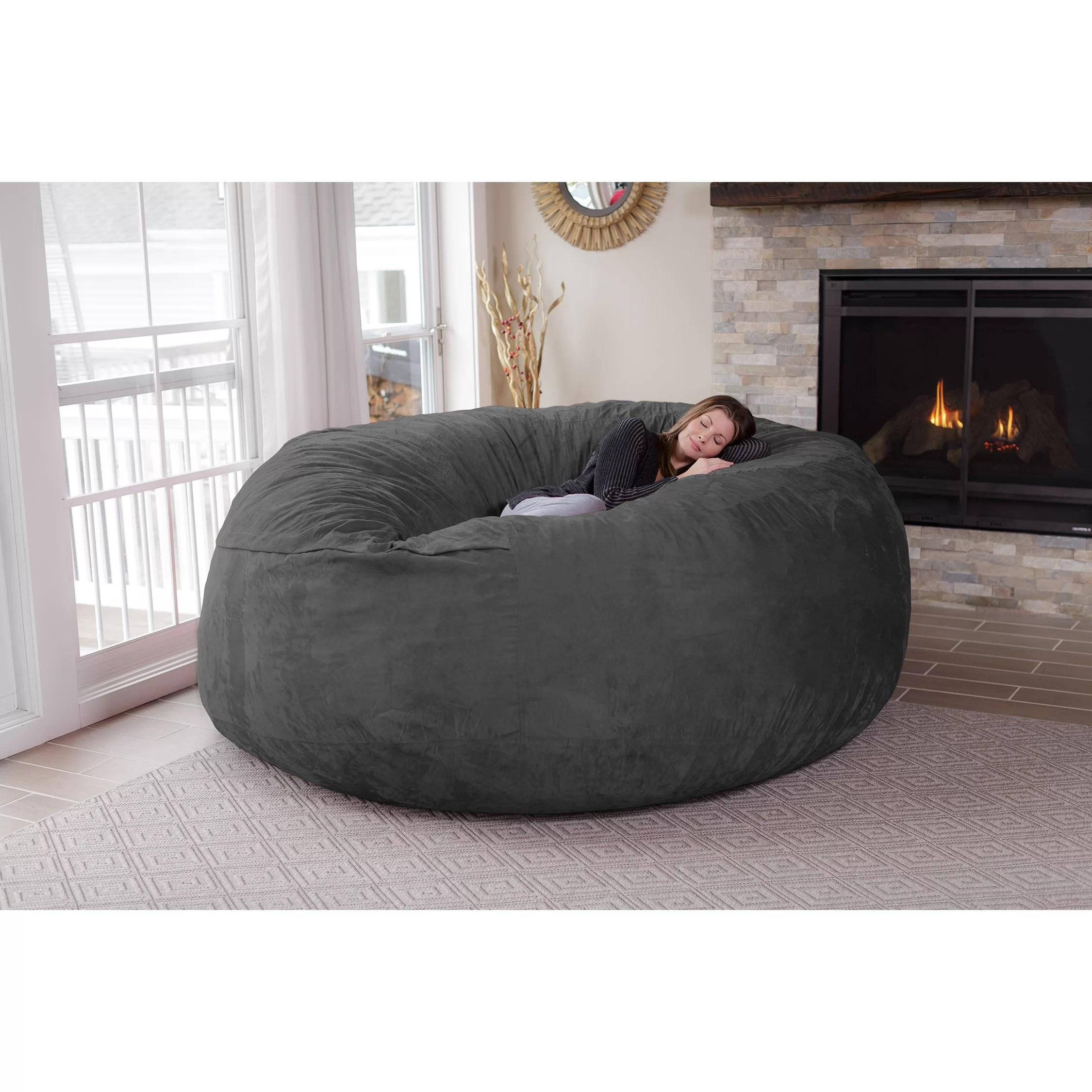 sofa sack reviews living room ideas with tan sofas theater sacks bean bag and wayfair
