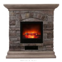 OK Lighting Portable Electric Fireplace | Wayfair