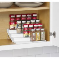 YouCopia Spice Steps 4-Tier Cabinet Spice Rack Organizer ...
