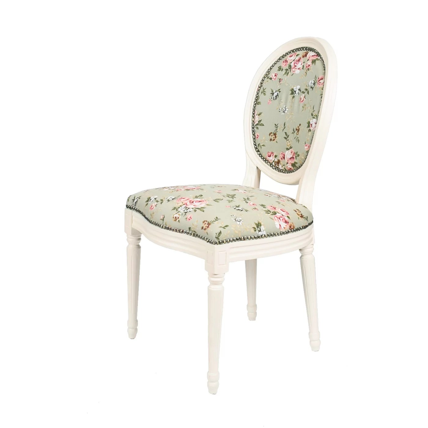 floral upholstered chair stackable covers australia derry 39s dining and reviews wayfair uk