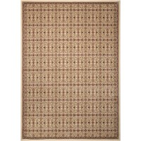 Kathy Ireland Home Gallery Antiquities Brown Area Rug ...