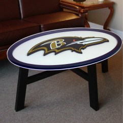 Dallas Cowboys Folding Chairs Fishing For Sale Fan Creations Nfl Logo Coffee Table And Reviews Wayfair Supply