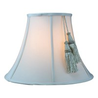 "Home Concept 16"" Fabric Bell Lamp Shade & Reviews 