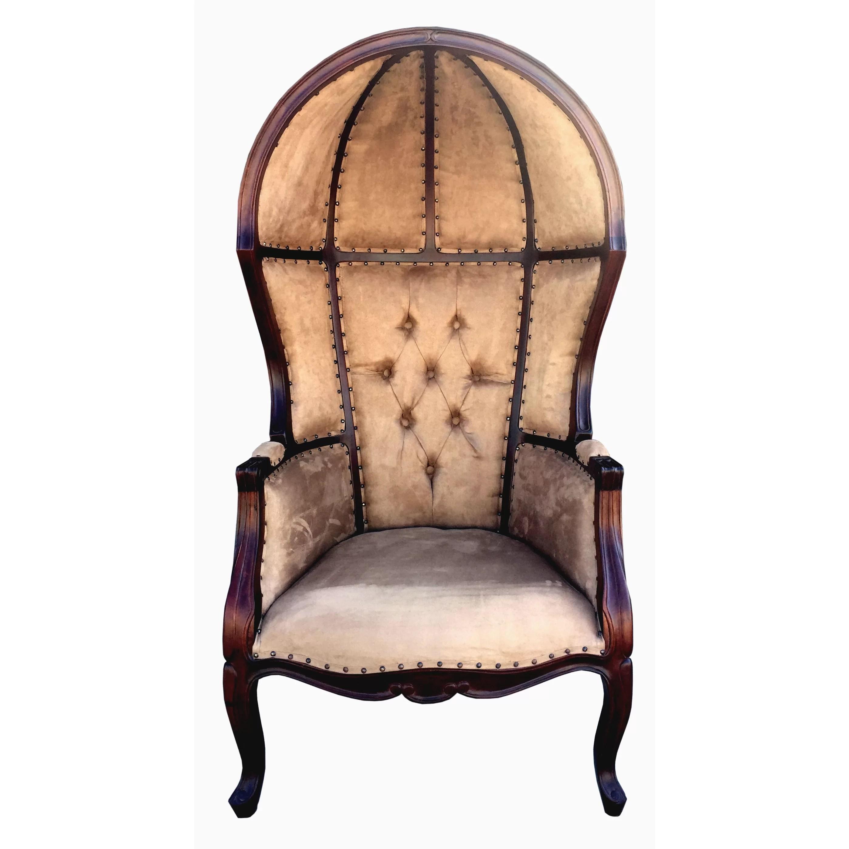 DArt Collection Louis Dome Balloon Arm Chair  Wayfair