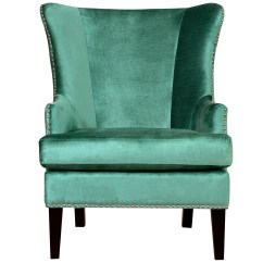 Turquoise Wingback Chair Kenny Chesney Blue Rum Hat Tov Soho Wing And Reviews Wayfair