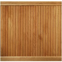 "Manor House 96"" Solid Wood Wall Paneling in Red Oak ..."