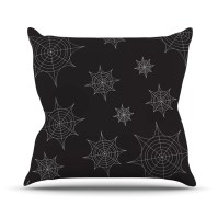 KESS InHouse Mini Webs Throw Pillow | Wayfair