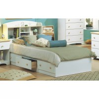 South Shore Newbury Twin Mate's Bed with Storage & Reviews ...