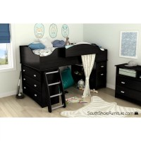 South Shore Imagine Twin Loft Bed Customizable Bedroom Set ...