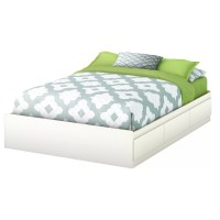 South Shore Step One Full/Double Storage Platform Bed ...