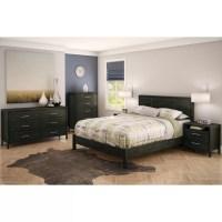 South Shore Gravity Queen Platform Customizable Bedroom ...