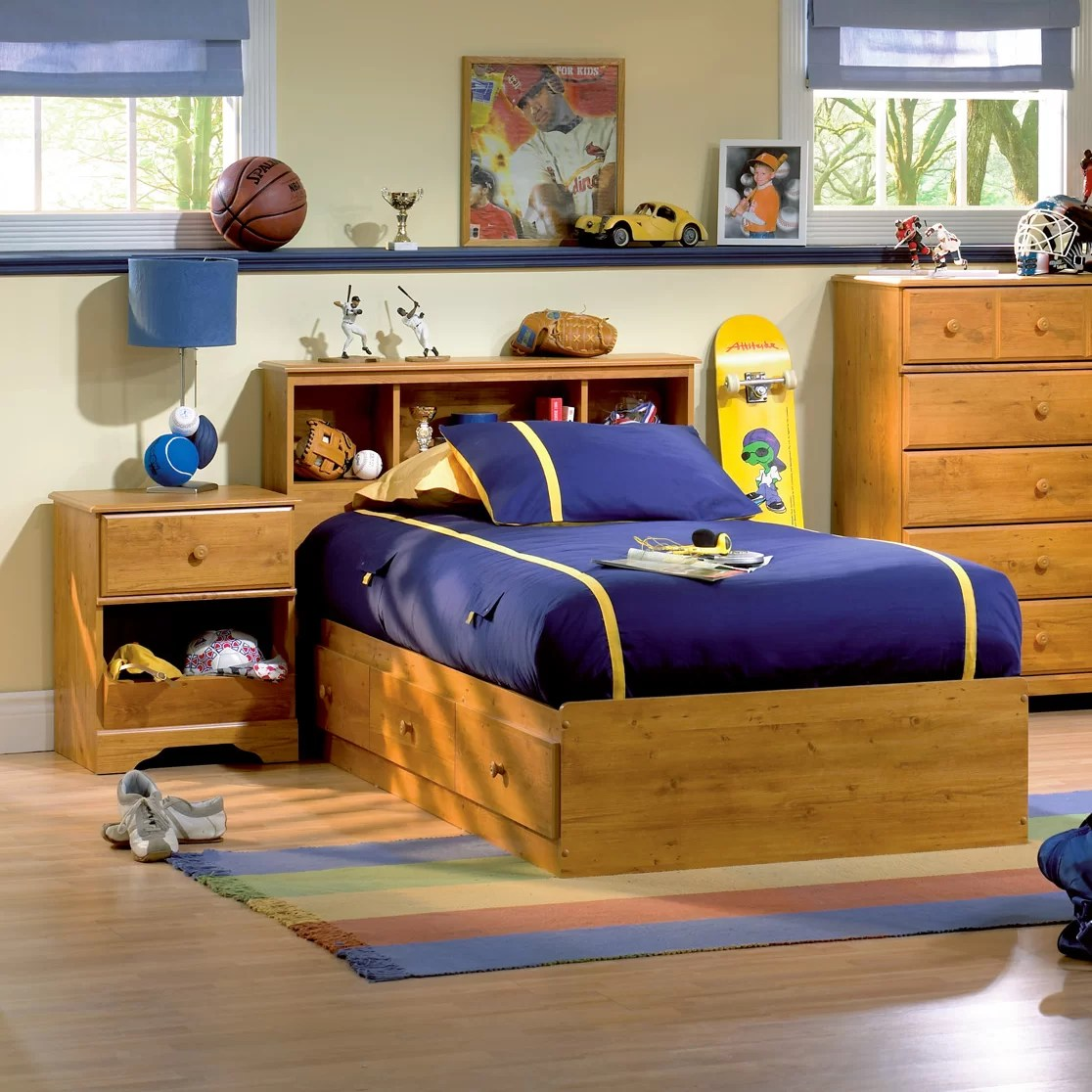 South Shore Amesbury Twin Platform Customizable Bedroom Set  Reviews  Wayfair