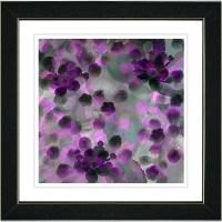 """Studio Works Modern """"Popcorn Floral - Purple"""" by Zhee ..."""