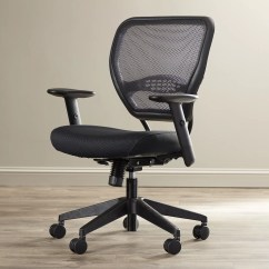 Wayfair Office Chairs Black Outdoor Rocking Chair Cushions Star Space Mid Back Mesh Desk And Reviews