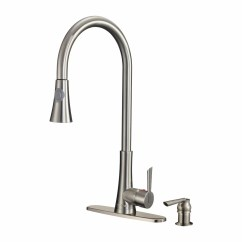 Sears Kitchen Faucets Backyard Ideas Dyconn Faucet Celtic Single Handle Pull Out