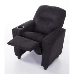 Video Game Chair With Cup Holder Adams Adirondack Stacking In Clay Mochi Furniture Microfiber Comfortable Kids Recliner