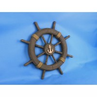 Handcrafted Nautical Decor Antique Decorative Ship Wheel ...