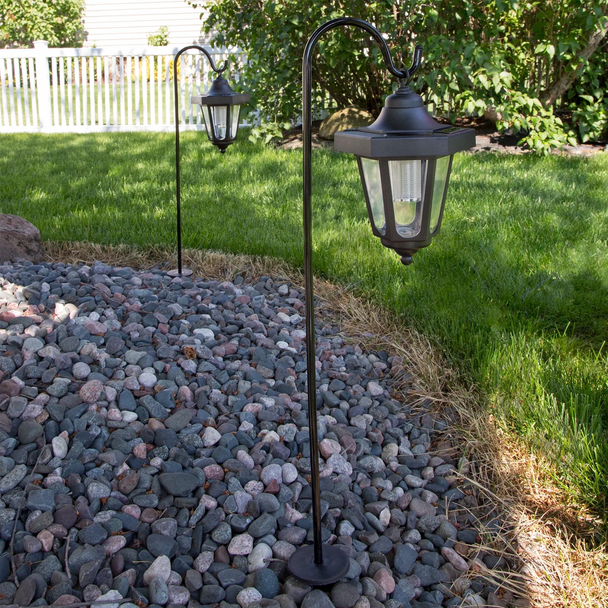 Solar Powered Coach Lanterns