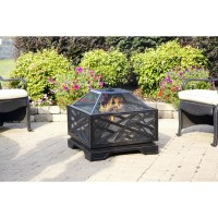 Pleasant Hearth Martin Wood Burning Fire Pit & Reviews ...