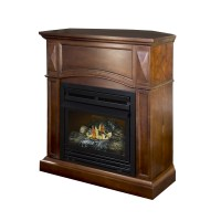 Pleasant Hearth Dual Fuel Vent Free Wall Mount Gas ...