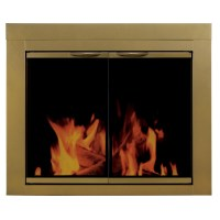 Pleasant Hearth Ashlynn 2 Panel Fireplace Screen | Wayfair.ca