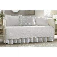 Stone Cottage Trellis 5 Piece Reversible Daybed Cover Set ...