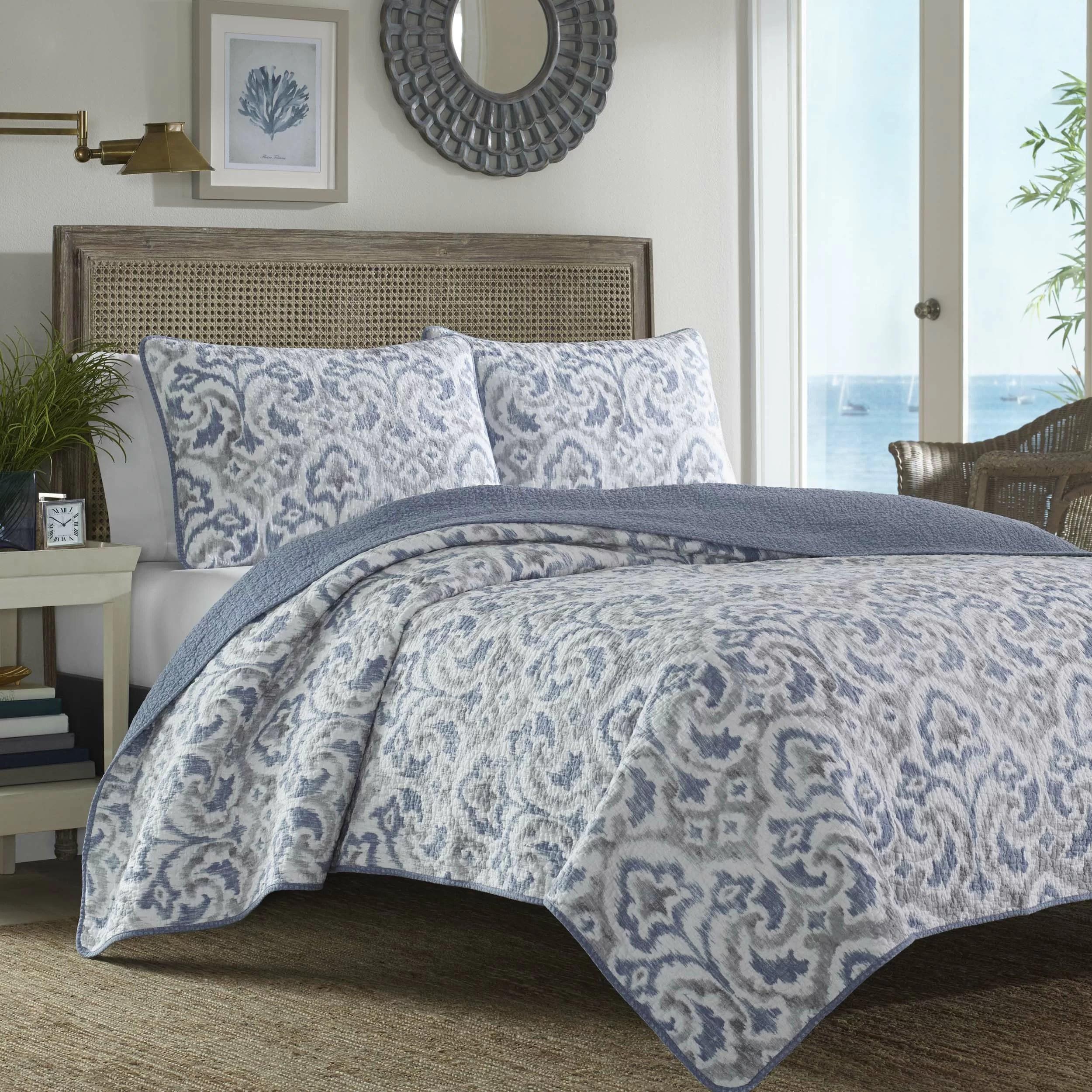 Tommy Bahama Bedding Cape Verde Reversible Quilt Set