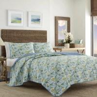Tommy Bahama Bedding Julie Cay Reversible Quilt Set   Wayfair