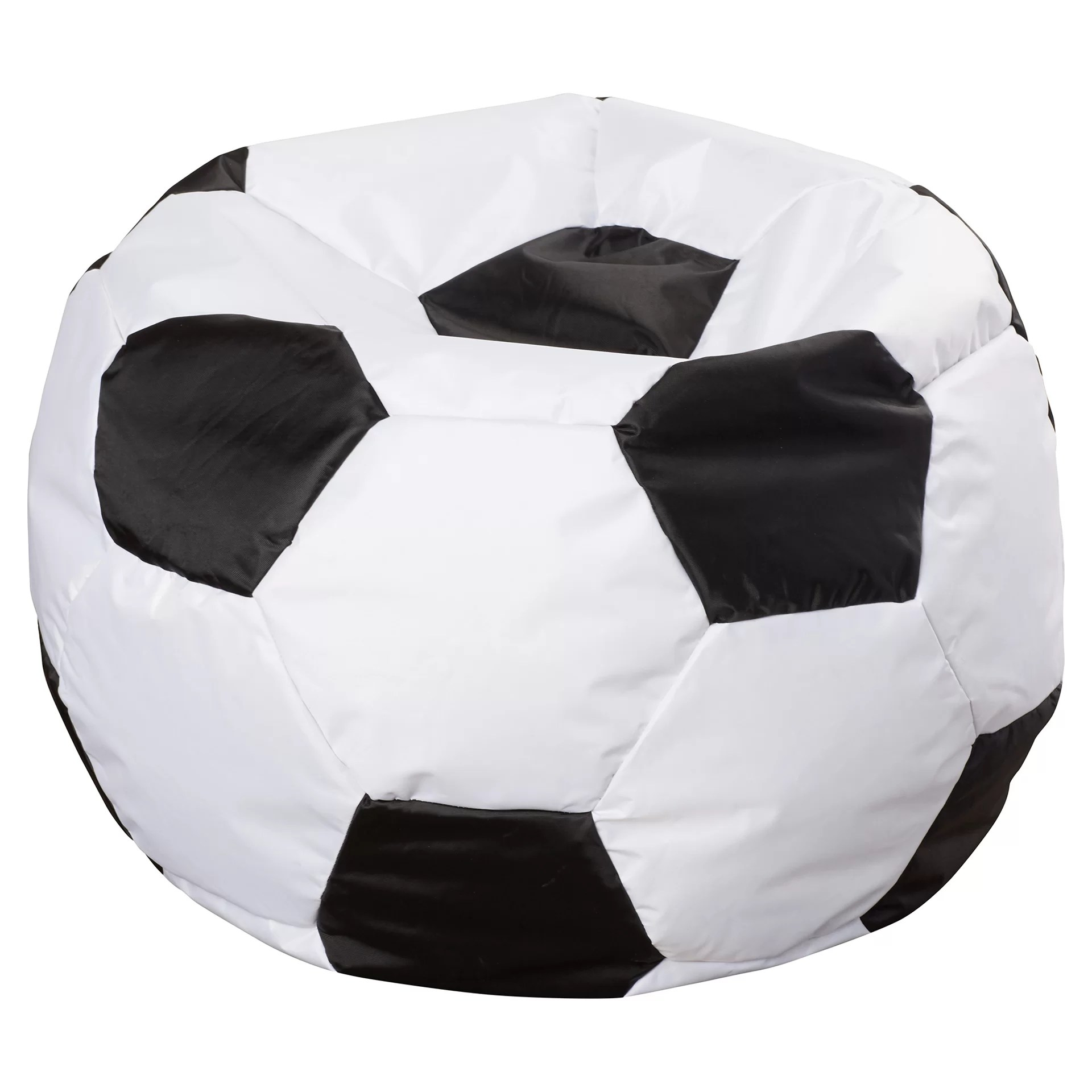 inflatable soccer ball chair transparent folding chairs comfort research big joe bean bag and reviews