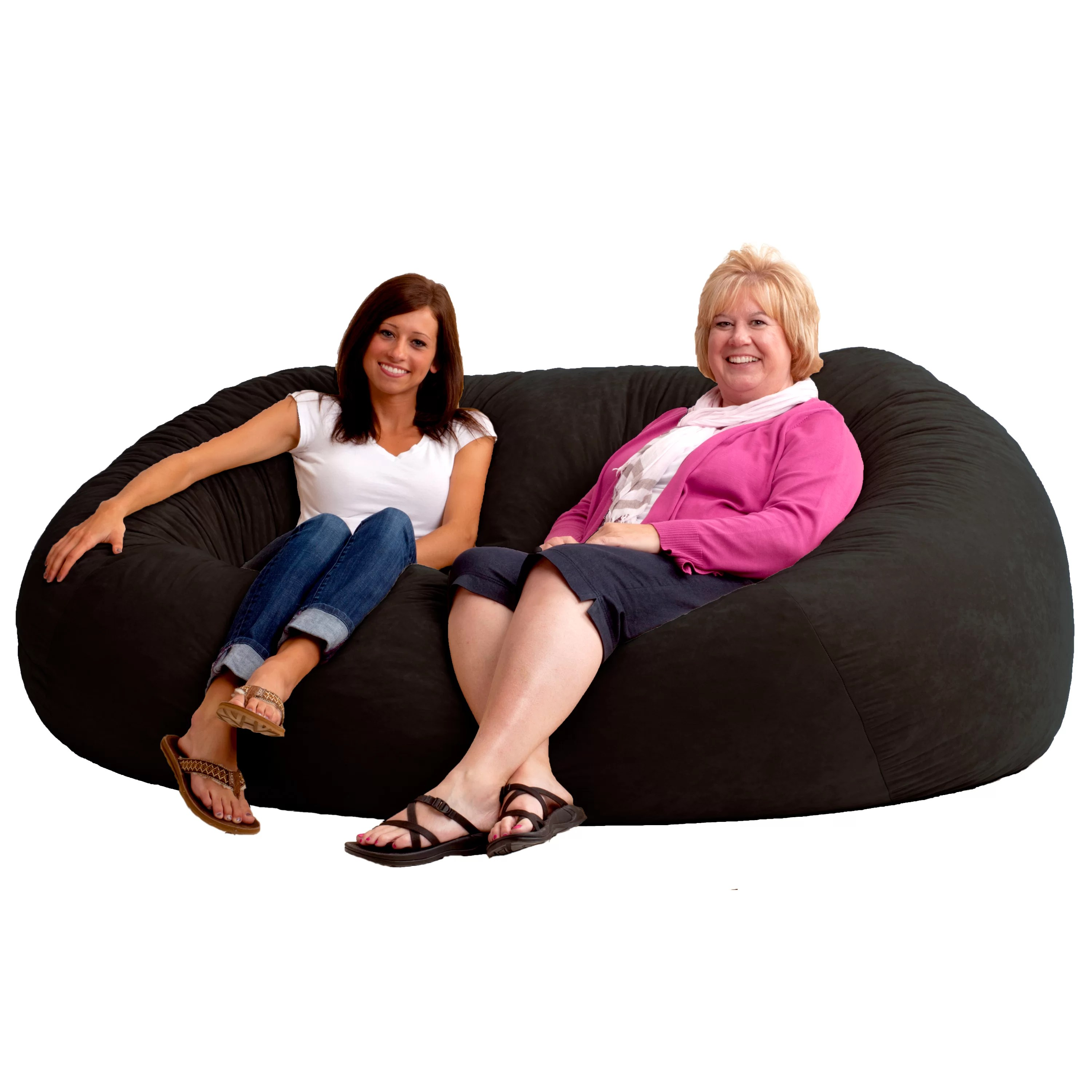 two person bean bag chair small bedroom nursing comfort research fuf sofa and reviews wayfair