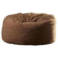 6 Foot Bean Bag Chair Green Velvet Dining Chairs Comfort Research Fuf Six Media Foam Filled Sofa