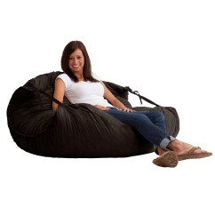 Xxl Fuf Chair Black Papasan Comfort Research Bean Bag Lounger And Reviews Wayfair