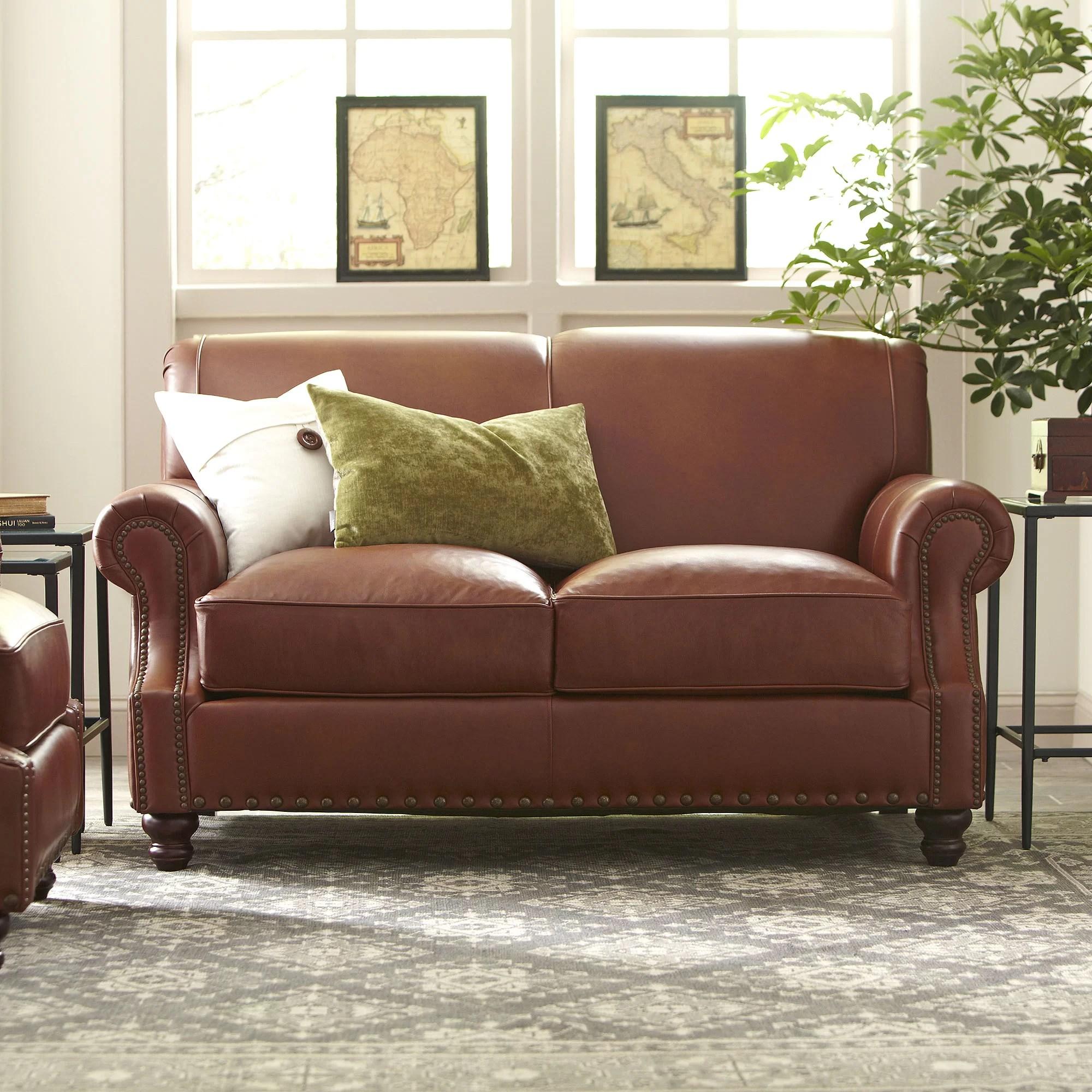 lane leather sofa and loveseat simmons sleeper sofas reviews birch landry wayfair