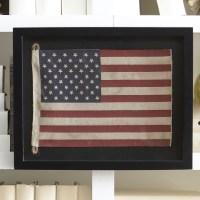 Birch Lane Small American Flag Framed Wall Art & Reviews ...